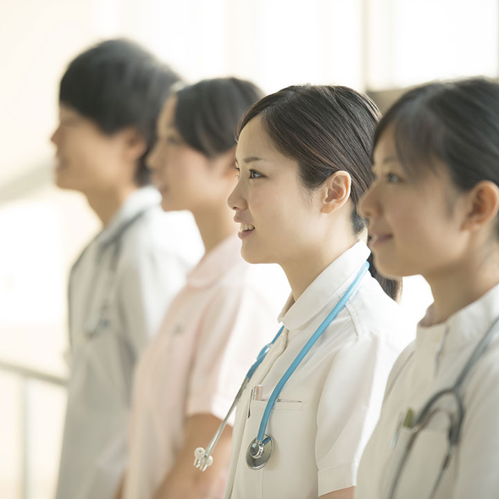 患者さんを支える看護師として働く